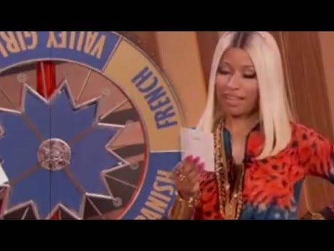 Nicki Minaj 'Wheel of Accents' on The Queen Latifah Show! Interview 2013