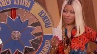 Nicki Minaj 'Wheel of Accents' on The Queen Latifah Show! Interview 2013