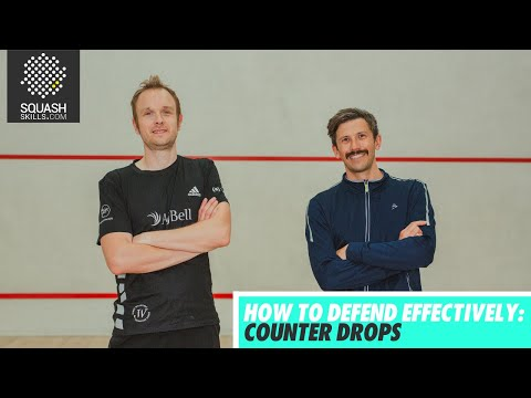 Squash tips: How to defend effectively with James Willstrop - Counter Drops