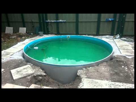 Above ground pool to underground pool