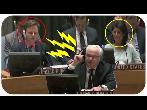 Американке понравилось как Чуркин отчитал Англию в ООН. ПОЛИТИКА НОВОСТИ - DomaVideo.Ru