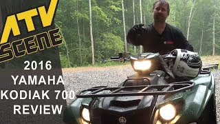 7. 2016 Yamaha Kodiak 700 4x4 EPS Ride Review