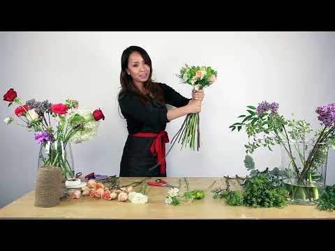 Bó hoa cưới sang trọng