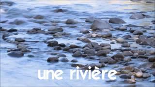Aprenda francês # Estudar francês # 1 time lapse # une rivière