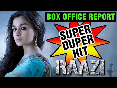 Alia Bhatt's Raazi Is A HIT | Box Office Report |