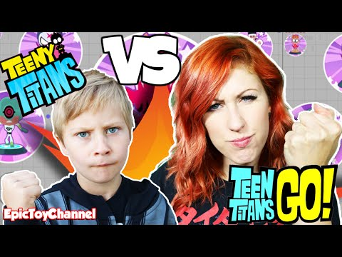 TEEN TITANS GO! Teeny Titans Game ⚡ Surprise Blind Bags ⚡ Teen Titans Go! Toys by Epic Toy Channel