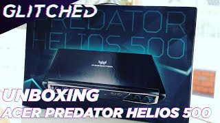 Watch our Acer Predator Helios 500 Unboxing
