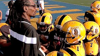 SYFL Super Bowl '14 : Highlights of Snoop Dogg's DV Steelers 32-0 win over Leimert Park Chargers.