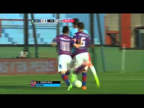 Gol de Rasic. Arsenal 2 – Tigre 0. Fecha 22. Primera División 2015