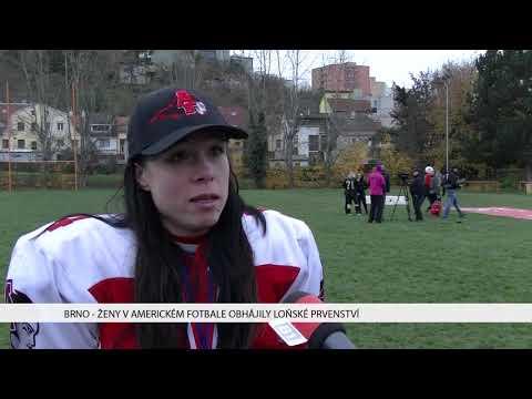 TV Brno 1: 13.11.2017 Ženy v americkém fotbale obhájily loňské prvenství