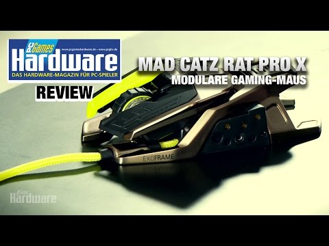 Mad Catz Rat Pro X | Review / Test | Modulare Gaming-Maus
