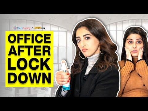 Alright! | Office After Lockdown Ft. Kritika Avasthi & Deepansha Dhingra