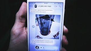 Mensagens para whatsapp - A MOMO ME MANDOU UM DESAFIO!!!
