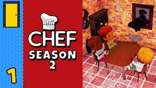 Back in the Kitchen!   Chef - Season 2 - Part 1 - Restaurant Tycoon Game (Early Access)