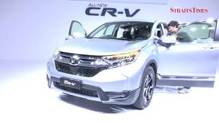 THE all-new fifth generation CR-V sports utility vehicle (SUV) made its debut today, priced from RM142,400. Read more: ...