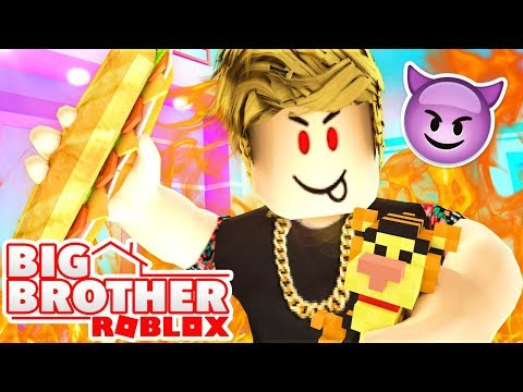 EVIL VILLAIN RULES THE HOUSE in ROBLOX BIG BROTHER!  Episode 2 (Season 2)