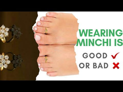 "Health benefits of wearing ""Toe Ring"" 
