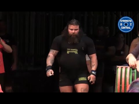 Brandon Allen - 3rd Place Big Dogs 3 ($6000) - 1102.5 Kg Total
