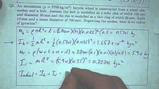 Dynamics 7 - Moments of Inertia and Angular Momentum
