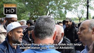 Video Lari dari Alkitab | Hashim Vs Christians | Speakers Corner | Hyde Park MP3, 3GP, MP4, WEBM, AVI, FLV Desember 2018