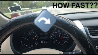 9. TEST DRIVING 2014 NISSAN ALTIMA (HOW FAST CAN IT GO??)