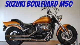 9. 2006 Suzuki Boulevard M50 Walk Around: srkcycles.com