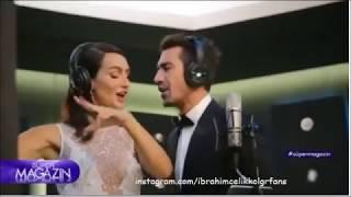 İbrahim Çelikkol & Birce Akalay Backstage from KanalD Promo 2017-2018!
