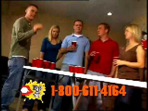 Beer Pong TV Commercial