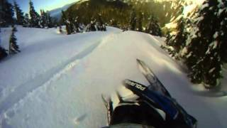 7. 2013 Pro-rmk 800 155 In the trees