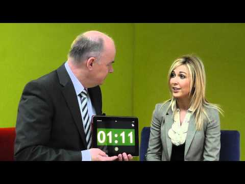 Shauna McCarney, Heavenly Tasty Organics, takes the 60 second challenge with Omagh Enterprise.
