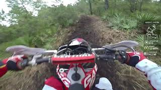 1. Hog Waller Harescramble on a 2012 GasGas EC200