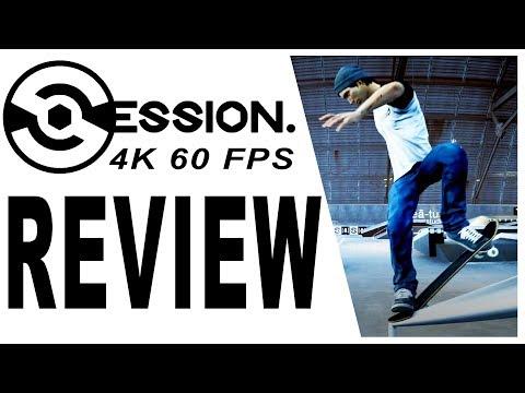 Session Review - 4K 60 FPS - New Skateboarding PC Game