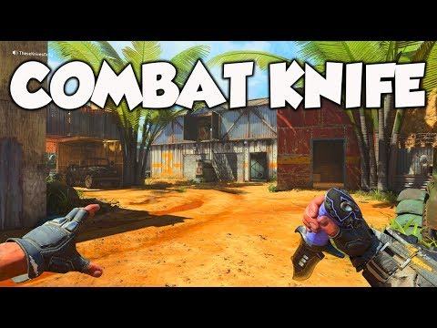 THE BLACK OPS 4 COMBAT KNIFE...