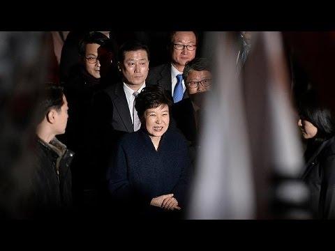 Στο σπίτι της η πρόεδρος της Νότιας Κορέας