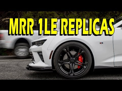 MRR Designs M017 1LE Replica Wheels for Camaro LS, LT, SS, or ZL1