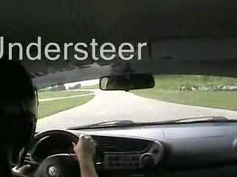 Oversteer and Understeer on the track