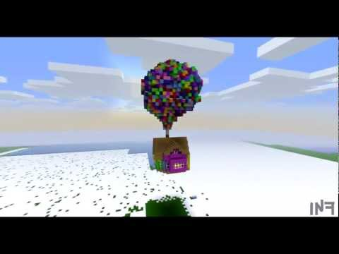 Pixar 39 S Up House Minecraft Project