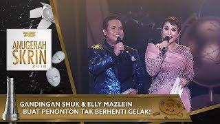 Video Gandingan Shuk & Elly Mazlein buat penonton tak berhenti gelak! | #ASK2018 MP3, 3GP, MP4, WEBM, AVI, FLV April 2019