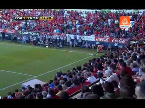 Osasuna 2 - 1 Real Madrid (Liga Española 2009)