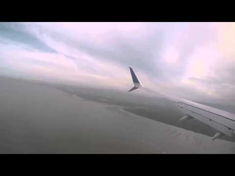 Pouso Copa Airlines landing in Panama 737-800 Copa Airlines