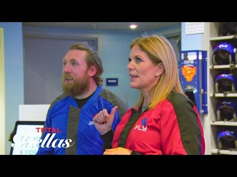 Daniel Bryan and mother-in-law Kathy go indoor skydiving: Total Bellas, July 8, 2018
