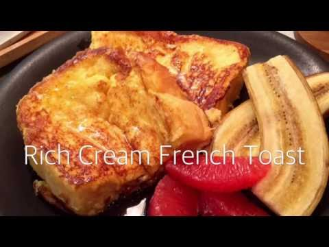 Fluffy And Rich Taste - Rich Cream French Toast