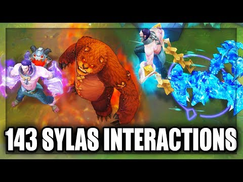 不知道有沒有人PO過 全143角色  Sylas大絕施放