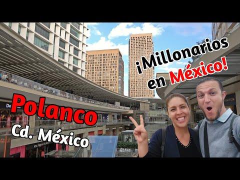 📌 POLANCO (4K) Así viven los RICOS en México | ¿Qué ver y hacer 1 día en Polanco? | 2# México