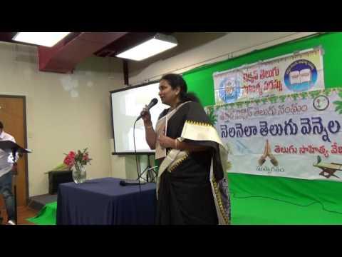 TANTEX - NNTV 116th - 38th TX Sahitya Vedika Guests Intro-2