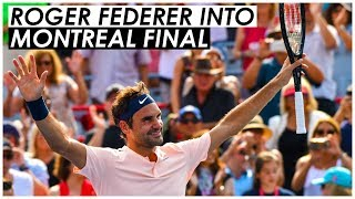 TENNIS LEGEND ROGER FEDERER TOPS ROBIN HAASE TO ADVANCE TO ROGERS CUP FINAL SUBSCRIBE US FOR...