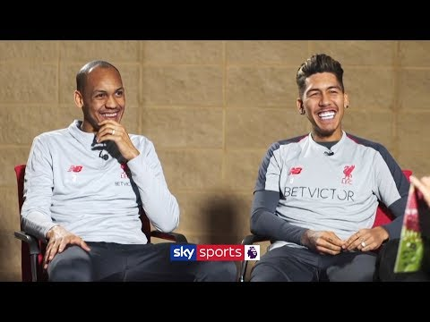 Fabinho And Firmino On Title Hopes, Their Friendship And Jurgen Klopp!