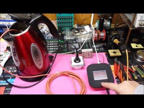 Wlan Thermometer Mini , SSR Relais Test am ( IO GPIO 2 )