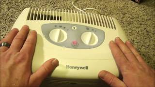 Show how I fixed a Honeywell air purifier that was whistling and vibrating excessively. Model# HHT-011