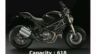 2. 2010 Ducati Monster 1100 ABS  Features Info Transmission motorbike Details Specification